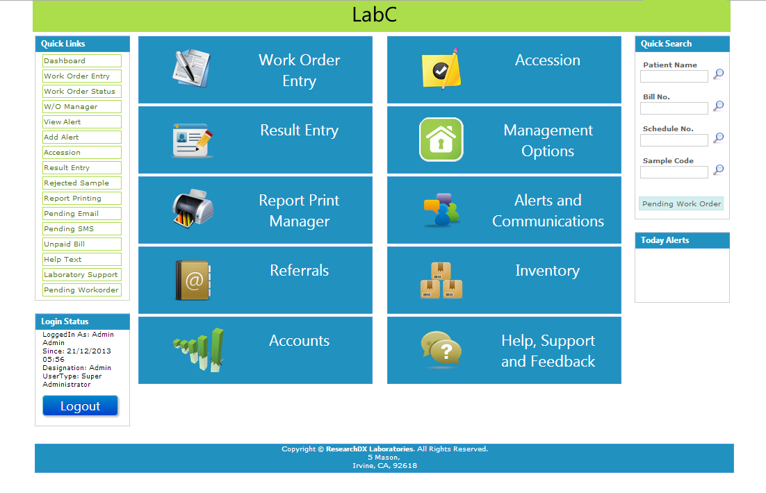 labc - Medical Software India